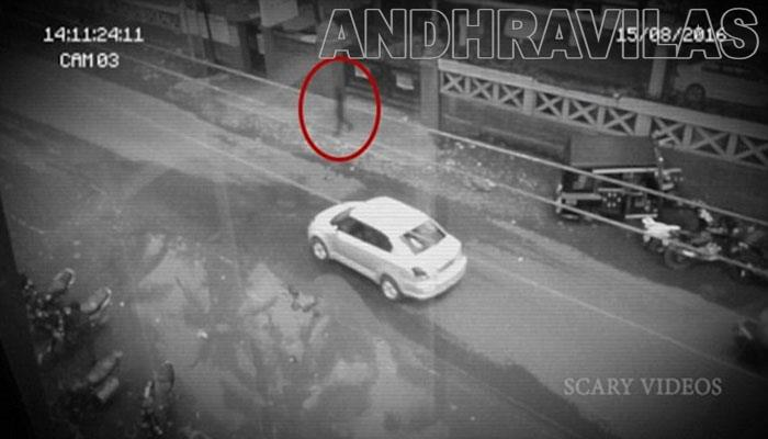 Indian man captures 'ghost' on camera in Sharjah-Andhravilas